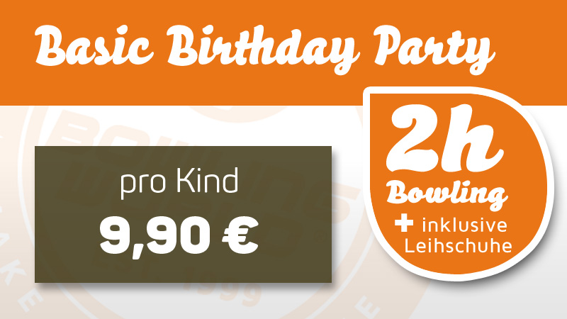 Kid´s Birthday Party - Basic
